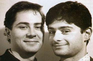 Tim Conigrave and John Caleo