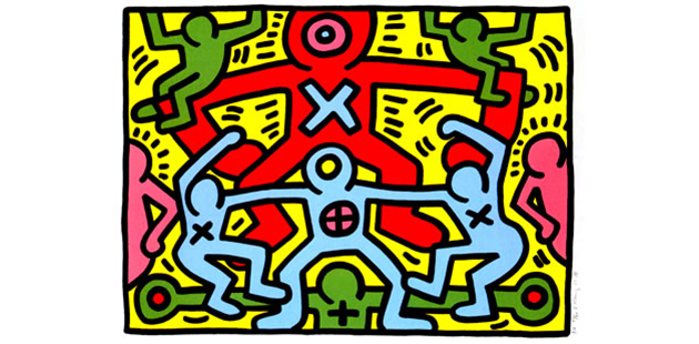 Keith Haring, Untitled, 1985_editorial