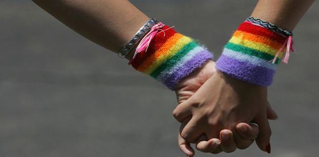 Lesbian Couple Hand