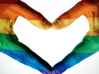Rainbow Heart Hands