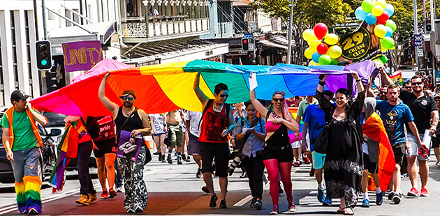 Brisbane Pride March editorial