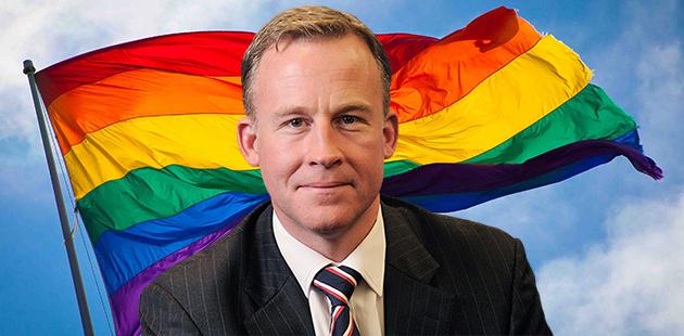 Rainbow Flag Tasmania Premier