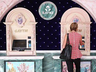 GAYNZ ATM on Oxford Street