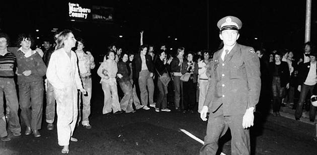 Mardi Gras 1978 Protesters