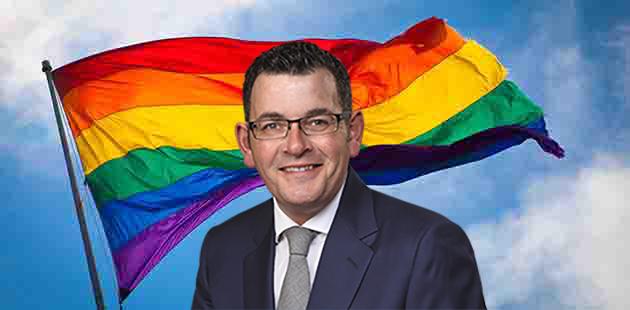 Victorian Pride Centre Daniel Andrews
