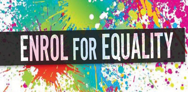 Enrol for Equality