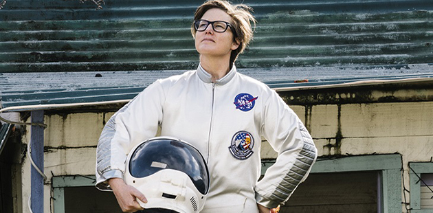 Hannah Gadsby Dogmatic photo by Alan Moyle