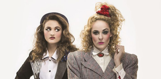Heathers Hilary Cole and Lucy Maunder photo by John McRae