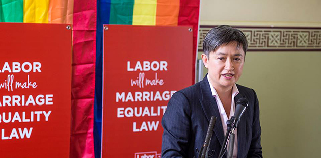 Rainbow Labor Senator Penny Wong