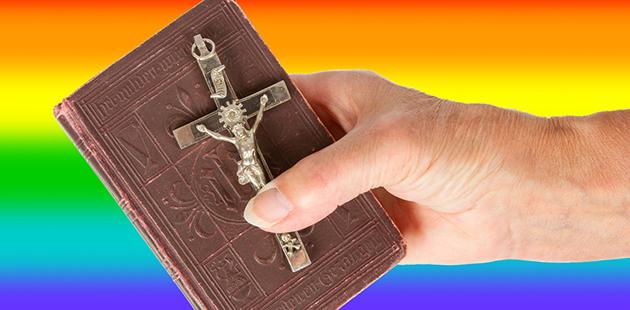 Bible on Rainbow