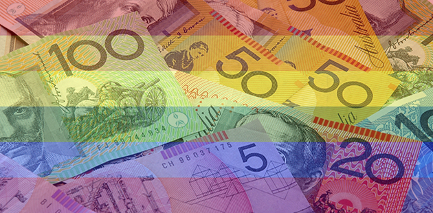 Australian Money Rainbow
