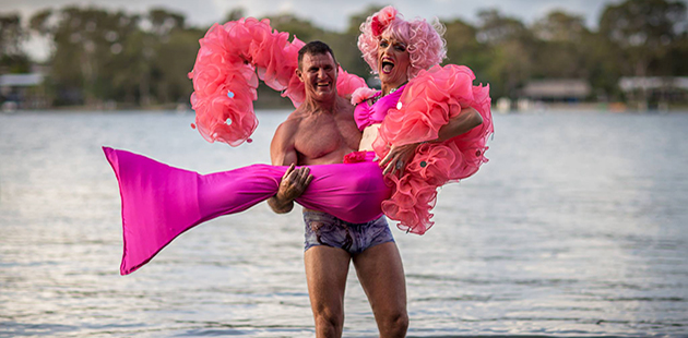 2016 Noosa Rainbow River Festival - Geoff Marshman and Melony Brests