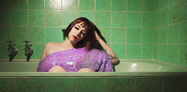 Adelaide Fringe Not Another Indie Cabaret Jessamae St James - photo by Rachel Mia