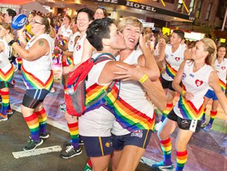 Sydney Gay and Lesbian Mardi Gras Parade 2016 SWAFL