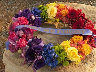 2017 DEFGLIS Commemorative Rainbow Wreath