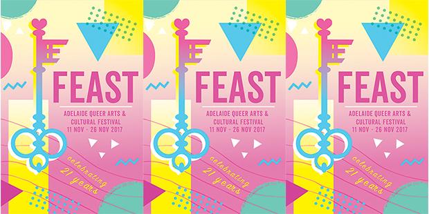 Feast Festival 2017 Poster Design