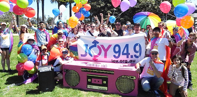 JOY 94.9 Pride March