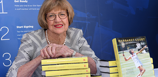 Margaret Court Book Launch 2016
