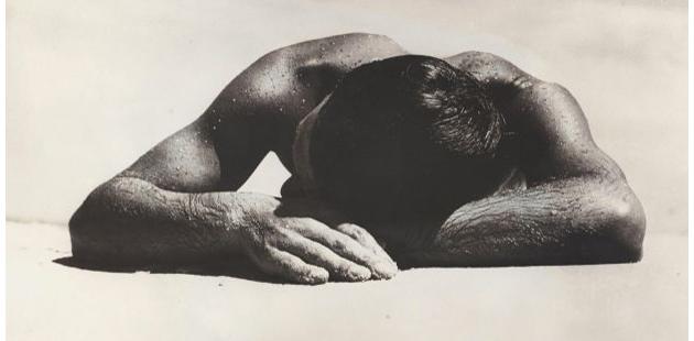 Max Dupain, Sunbaker 1937 (detail) gelatin silver photograph 37.7 x 43.2 cm APN editorial