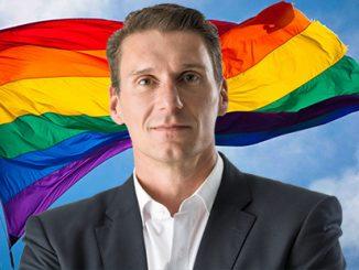 Cory Bernardi Rainbow Flag
