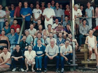 TC A Victorian AIDS Council volunteer training weekend in Kyneton Victoria, 1987 -Australian Lesbian and Gay Archives