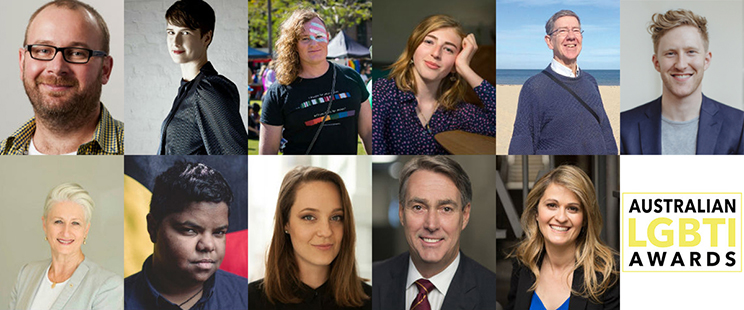 Australian LGBTI Awards Hero Nominees