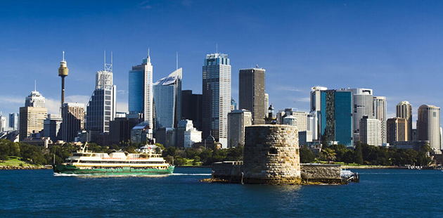 Fort Denison and Sydney skyline APN