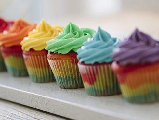 APN Rainbow Cup Cakes