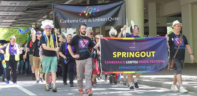 Canberra SpringOUT Pride Parade 2016