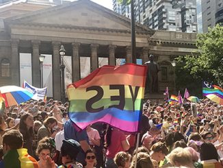 Melbourne YES Rally