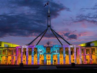Parliament House Canberra Enlighten APN