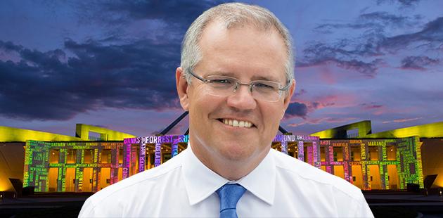 Parliament House Canberra PM Scott Morrison