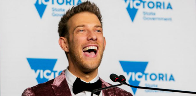 Globe Awards 2017 Micah Scott 2017 Victorian LGBTI Person of the Year