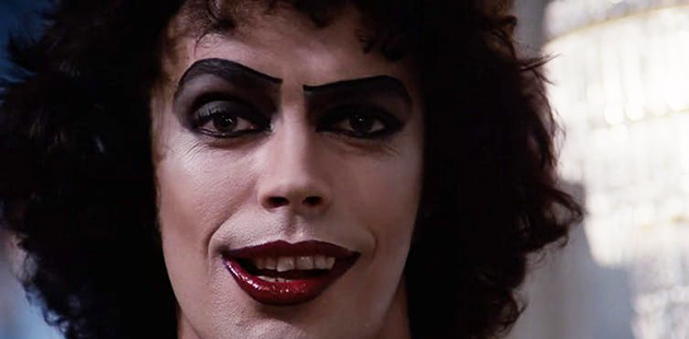 Tim Curry as Dr Frank-N-furter