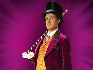 Charlie and the Chocolate Factory Paul Slade Smith as Willy Wonka (c) Brian Geach