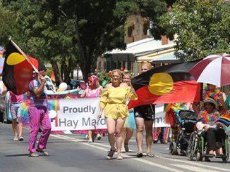 Rainbow on the Plains Festival Street Parade