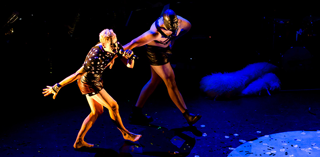 Adelaide Cabaret Festival Slap and Tickle - photo by Derren Hall