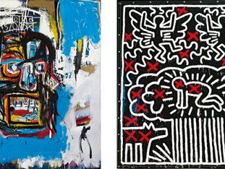 NGV Keith Haring Jean-Michel Basquiat Crossing Lines