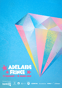 2020 Adelaide Fringe Poster by Dave Court