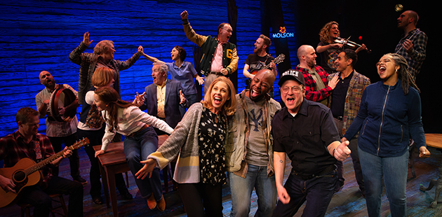 AAR Come From Away - Original Australian Company - photo by Jeff Busby
