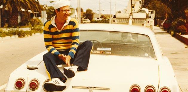 Dennis Altman in Santa Cruz California in 1984