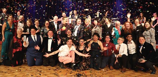 2019 GLOBE Community Awards winners - courtesy of Star Observer