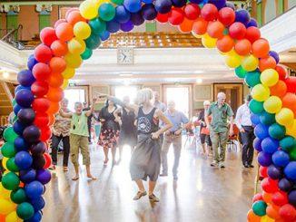 ATQM LGBTI Elders Dance Club - photo by Bryony Jackson