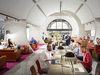 Victorian Pride Centre architectural render - courtesy of BAU & Grant Amon Architects