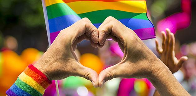 APN Rainbow Heart
