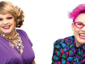 Dolly Diamond and Kerrie Stanley