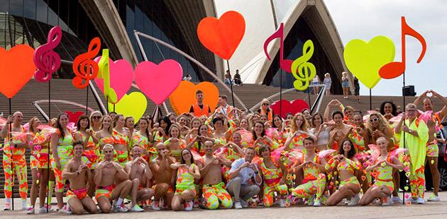 SGLMG Parade 2020 Sydney Opera House - photo by Richard Hedger
