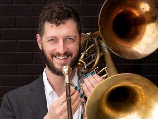 Ben-Anderson-with-Double-Belled-Trombone-photo-Xander-Sanbrook