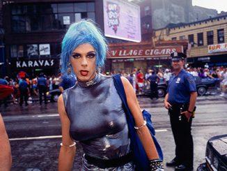 NGV-Nan-Goldin-Misty-in-Sheridan-Square-NYC-1991