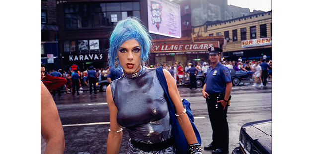 NGV-Nan-Goldin-Misty-in-Sheridan-Square-NYC-1991
